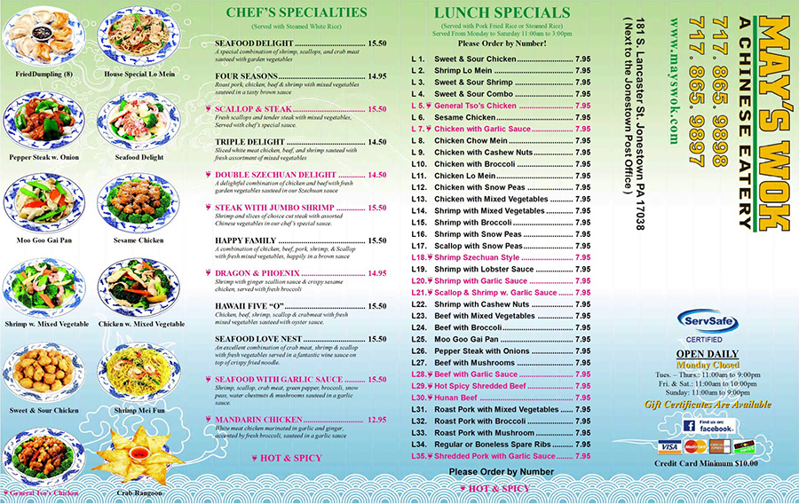 may menu 1 normal